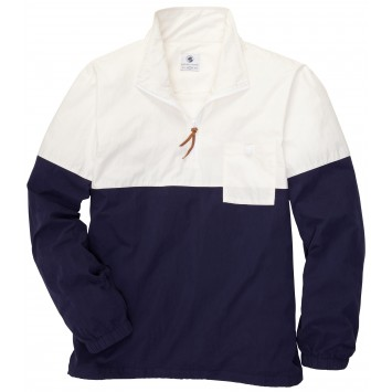 Dock Pullover - Ivory/Navy